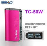 Seego Tc 50W 거대한 수용량 민감한 외관을%s 가진 큰 힘 건전지