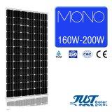 195W моно панелей солнечных батарей с 25 лет гарантии