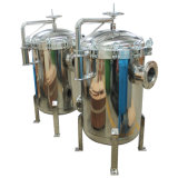 Bag Filter Pure Water Machine with Basket Strainer Housing