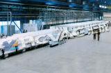Máquina de capa continua Titanium inoxidable de la placa de acero PVD/equipo continuo de la capa de PVD