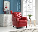أثاث لازم بيتيّة يعيش غرفة زرّ جلد وقت فراغ كرسي تثبيت