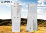 Contrôle intelligent de haute qualité LED 25W tout-en-un Rue lumière solaire