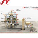 Gips FGD/sferoïde/elliptische dubbele rol hydraulische het samenpersen persmachine