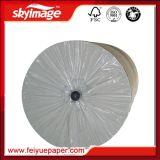 papel de transferência do Sublimation do rolo 50GSM enorme na impressão de matéria têxtil