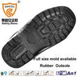 Breathable и прочные кожаный ботинки безопасности с стальной крышкой пальца ноги