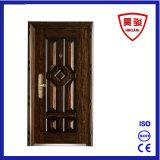 Porte de luxe en acier simple pour la porte à la maison