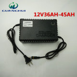12V5a Smart Lead Acid Battery Charger Used for 36-45ah Electric Bicycle and Car