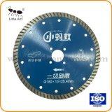 7 duim 180mm Scherpe Schijf van Tuebo van het Blad van de Zaag van de Diamant van het Blad van de Zaag van de Diamant de Turbo voor het Ceramische Marmeren Kwarts van het Graniet