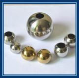 Большой размер половины из нержавеющей стали для скрытых полостей шаровой шарнир с резьбовым отверстием