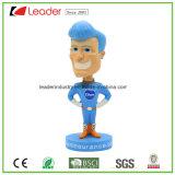 Figurine di Bobblehead della resina con personalizzato per la decorazione domestica