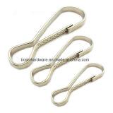 Старинных бронзовых металлический крюк пружины предохранительного пояса