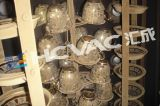 Installatie van de Machine van de Deklaag Metallizer van de Koppen PVD van de Ceramiektegel de Vacuüm