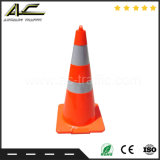 Orange Belüftung-Kegel mit Löchern zur Verkehrssicherheit