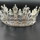 2018の最も新しいカスタマイズされた水晶王冠の結婚式のガラスStonneのラインストーンのティアラの花嫁の王冠(BC02)