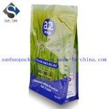 saco de pó do leite da folha de alumínio de Ziploc do selo 8-Side