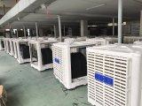 Refrigerador de ar evaporativo centrífugo da turbina