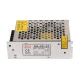 as-60-24 100-240VAC eingegebenes Mini60w 24VDC 2.5A Ausgangsleistungszubehör