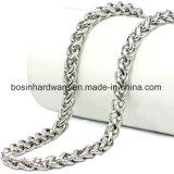 Collar de cadena de la cuerda de acero inoxidable