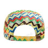 Sombrero de encargo del casquillo del camionero del verano del borde plano promocional del Snapback