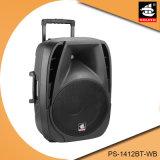 Haut-parleur multifonctionnel actif de Bluetooth de batterie portative de 12 pouces avec radio fm