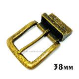 La boucle de courroie réversible en alliage de zinc de Pin de boucle en métal de qualité pour la robe ceinture les sacs à main de chaussures de vêtement (XWS-ZD456--ZD523)