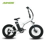 """48V10ah мотор 500 Вт электрический мотоцикл 20""""дюйм складной велосипед с электроприводом шин жира"""