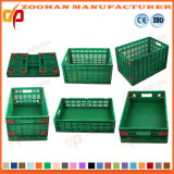 Caixa plástica da modificação do armazenamento do indicador da fruta e verdura do supermercado (Zhtb4)