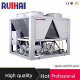 Il refrigeratore raffreddato ad aria della vite per estigue l'intervallo di potere del serbatoio 200-350kw