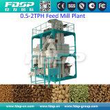 Las aves de corral de pequeña capacidad introducen la cadena de producción de la alimentación de la planta/de las aves de corral