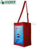 420d PVCポリエステル肩ひもの大きい絶縁された昼食のFooldのクーラー袋