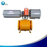 La marca de fábrica de Rotork motorizó la válvula cerrada con la válvula electromagnética de Asco