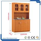 Do armário barato da cozinha da porta do MDF 3 da mobília da cozinha gabinete de madeira