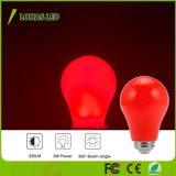 Lampadina delle luci rosse A19 3W E26 LED della lampadina di Non-Dimmable LED per la decorazione del partito