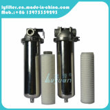 Filtro em caixa de água de 10 polegadas para a carcaça de filtro do aço inoxidável