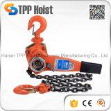 Hsh Typ 0.75t/1.5t/3t/6t/9t Minihandmanuelle anhebende Hebel-Kettenhebevorrichtung