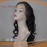 Brasilianische Jungfrau-Haar-Haut-oberste volle Spitze-Perücke (PPG-l-0132)