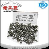 Herramientas Drilling de roca de los dígitos binarios de botón del carburo de tungsteno