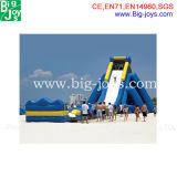 Diapositiva inflable gigante barata comercial popular 2015 para la venta (BJ-AT47)