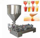 요구르트와 밀크 셰이크를 위한 수평한 자동 장전식 액체 충전물 기계