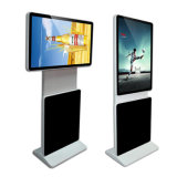 Advertisng LCD 디스플레이 디지털 Signage 간이 건축물을 서 있는 Andriod 지면