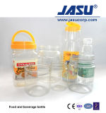 병이 화장품을%s 자동적인 단단 플라스틱 사출 중공 성형 기계에 의하여 거슬린다