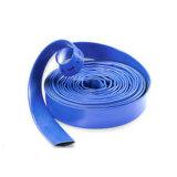 Boyau coloré de débit de l'eau de PVC Layflat