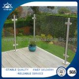 ステンレス鋼の手すりの柵のステアケース