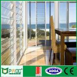 Auvent en verre de ventilation en aluminium avec la seule glace