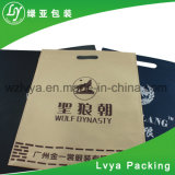 Hot vendre recycler de haute qualité adaptées à porter de vêtements non tissé Sac avec Die Cut