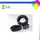 الصين مصنع سعر مطّاطة رخيصة حارّ عمليّة بيع مثلّث [ف] حزام سير