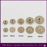 卸し売り衣服のアクセサリの衣類のために縫う円形の金属ボタン