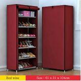 Equipamento para Engraxar os Sapatos de armário de racks de grande capacidade de armazenamento de dados móveis domésticos DIY Rack Sapata portátil simples (FS-08b) 2018