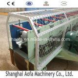 Rodillo redondo de acero de aluminio de la bajada de aguas de la venta caliente que forma la máquina
