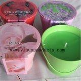Zinn-Kerze mit Zitronengras gerochen für Garten